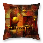 Beauty Of An Illusion Throw Pillow