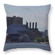 Beauty Of Baltimore Throw Pillow