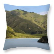 Beauty Of Cook Strait Throw Pillow