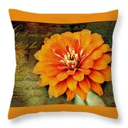 Beauty Of Creation Throw Pillow