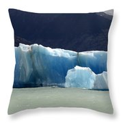 Beauty Of Icebergs Patagonia 6 Throw Pillow