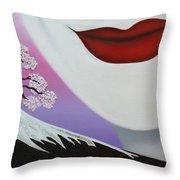 Beauty Of Japan Throw Pillow