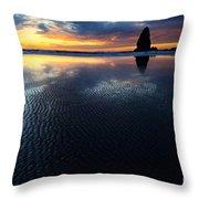 Beauty Of Oregon Cannon Beach 1 Throw Pillow