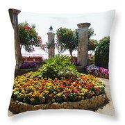 Beauty Of Ravello Italy Throw Pillow