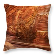 Beauty Of Sandstone Arizona Throw Pillow