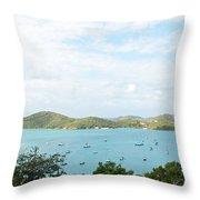 Beauty Of St Thomas Throw Pillow