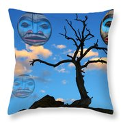 Magic Of The Pacific Northwest 3 Throw Pillow