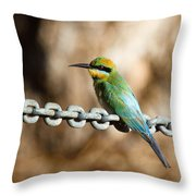 Beauty On Chains Throw Pillow