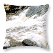 Beauty On The Eno River Throw Pillow