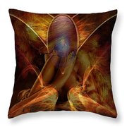 Beauty Painting Throw Pillow