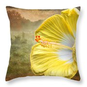 Beauty Served Two Ways Throw Pillow