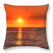 Beauty Sunset Throw Pillow
