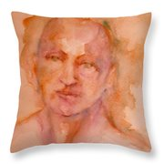 Beauty Thy Name Is Color Throw Pillow