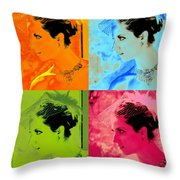 Beauty Times Four Two Throw Pillow