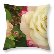 Beauty Together  Throw Pillow