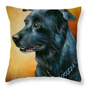 'beaux' Throw Pillow