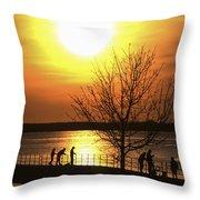 Beaverton Sunrise Throw Pillow