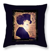 Bebe Daniels - 1920s Actress Throw Pillow