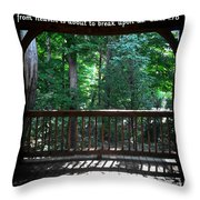 Because Of Gods Tender Mercy Throw Pillow