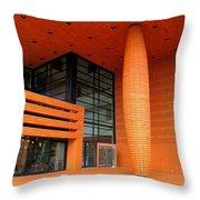 Bechtler Museum Of Modern Art Throw Pillow by Randall Weidner