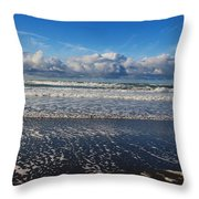 Beckoning Sea Throw Pillow