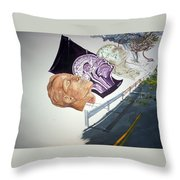 Becoming Conscience Throw Pillow