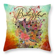 Bedazzled Throw Pillow by Amy Stewart