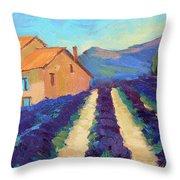 Bedoin - Provence Lavender Throw Pillow