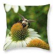 Bee 7 Throw Pillow