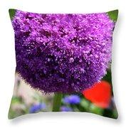 Bee Catcher Throw Pillow
