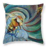 Bee Friends Throw Pillow