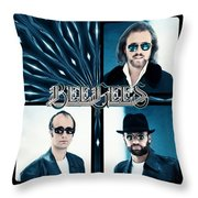 Bee Gees I Throw Pillow