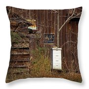 Bee Keepers Venue Throw Pillow