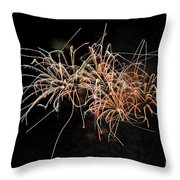 Bee Works Throw Pillow