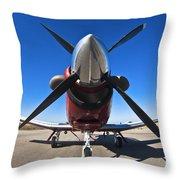 Beechcraft T-6a Texan II  Throw Pillow