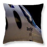 Beechjet 400 Throw Pillow