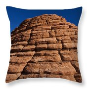 Beehive Valley Of Fire State Park Nevada Throw Pillow