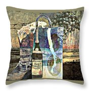 Beer On Tap Throw Pillow