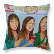 Beer Pong Champs Throw Pillow