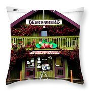 Beerenberg Condiments Throw Pillow