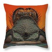 Beetle 41 Throw Pillow