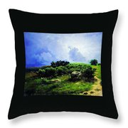 Before A Thunderstorm1869 Throw Pillow