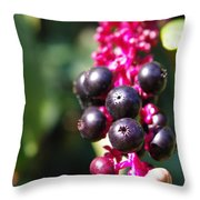 Before Bloom Throw Pillow