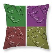 Before He Became The King Throw Pillow