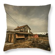 Before It Falls Apart Throw Pillow