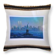 Before Nine Eleven Throw Pillow