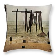 Before Sandy Throw Pillow