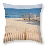 Before Summer Vacation Throw Pillow