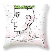Before Sunlight Throw Pillow