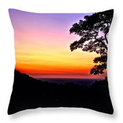 Zambia - Just Before Sunrise  Throw Pillow
